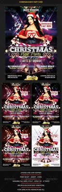 christmas party flyers go graphic studio christmas night party flyer clubs parties events