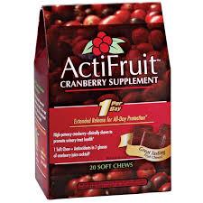 <b>ActiFruit</b>™ <b>Cranberry Supplement</b> Chews - <b>Actifruit</b>™ - Walter Drake