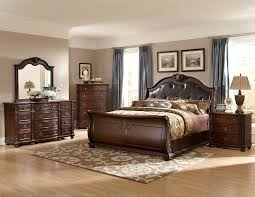 piece leather bedroom