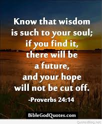 Wisdom bible quotes and sayings with pictures
