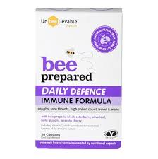 Unbeelievable Health <b>Bee Prepared</b> Daily Defence 30 Capsules ...