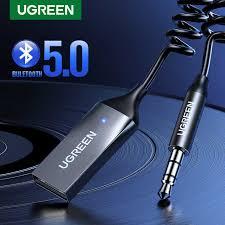 <b>Ugreen</b> Ricevitore <b>Bluetooth 5.0</b> Wireless aptX LL 3.5 millimetri Auto ...