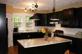 home black color furniture office counter design