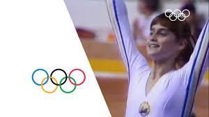 Nadia Comaneci - First Perfect 10 | Montreal <b>1976</b> Olympics ...