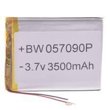 057090P Universal Replacement 3.7V 3500mAh Li - polymer ...