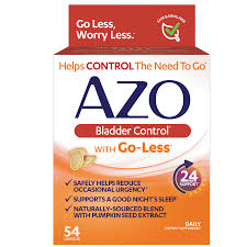 AZO <b>Bladder Control with Go-Less</b>, Helps Reduce Occasional ...