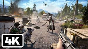 20 Minutes of <b>Far Cry 5</b> Fly, Fishing, and Killing Gameplay in 4K ...