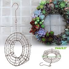 <b>Heart</b> /Ring Shape Succulent Hanging <b>Frame</b> Succulent Plant ...