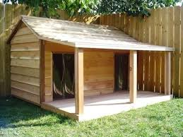 Awesome Dog House DIY Ideas Indoor and Outdoor  PHOTOS dog house for two large dogs