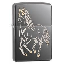"""<b>Зажигалка</b> """"<b>ZIPPO</b>"""" <b>Running</b> Horse 28645 - магазин подарков и ..."""