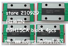 100% NEW <b>Original HIWIN linear</b> guideway narrow block EGH15SA ...