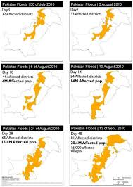 a summary case report on the health impacts and response to the fig 3 maps showing the temporal progression of floodwaters from 30th to 13th 2010 28