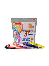 Набор пластика <b>UNID</b> для 3D ручек: PRO-9 <b>UNID</b> 6788656 в ...
