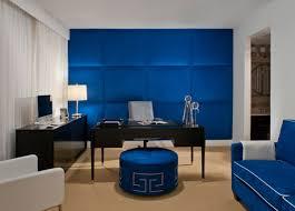carolyn miller interiros modern home office blue modern home office