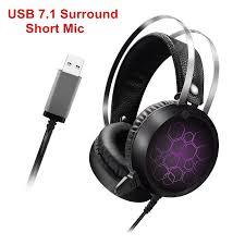 <b>Leehur</b> Earphone Headphones Wired Game Earphones USB7.1 ...