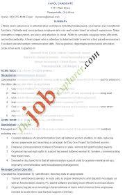 administrative assistant job description sample administrative administrative assistant job resume examples