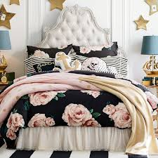 kitty otoole elegant whimsical bedroom: at once casual and elegant our upholstered headboard offers up a pleasing mix of contrasts with its unexpected pairing of tufted denim or natural linen set