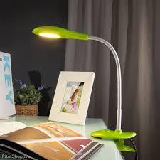 Светодиодная <b>настольная лампа</b> на прищепке <b>Captor</b> green ...