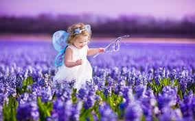 Image result for children looking at violet butterfly pictures