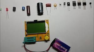 Testing <b>Mega 328</b> ESR <b>Meter LCR</b> led <b>Transistor</b> Tester Diode ...