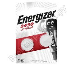 <b>Батарейки Energizer Lithium CR2450</b> 2 шт/бл 7638900381795 ...