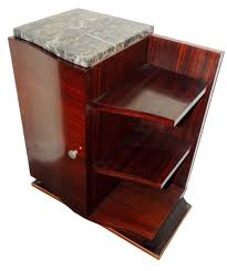french art deco macassar one night stand art deco furniture san francisco