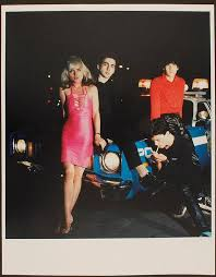 <b>Blondie</b> - Outtake from the <b>Plastic Letters</b> album photo shoot. Chuck ...