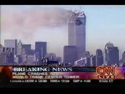 9/11/01 - CNN News Coverage 1st 5 Minutes - YouTube