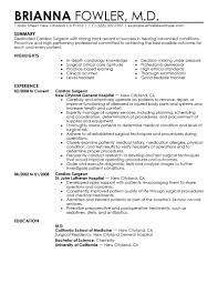 best surgeon resume example livecareer create my resume