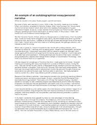 example of an autobiography essay housekeeper checklist example of an autobiography essay college autobiography essay example 36502949 png