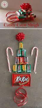 Simple DIY Candy Cane Sleigh
