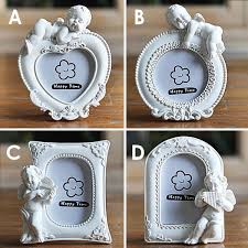 2 Inch Cute Angel Cupids <b>Pictures</b> Frame <b>European Style Resin</b> ...