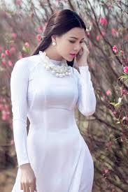 Image result for áo dài trắng
