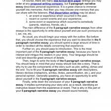 cover letter format of narrative essay format for narrative essay  cover letter sample narrative essaysformat of narrative essay