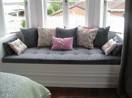 grey bay window seat cushion bay window seat cushion