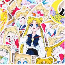 36pcs Creative <b>Cute</b> Self made Pretty guardian Sailor Moon ...