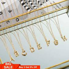 <b>Fever&Free</b> Romantic Women Nameplate Necklace Long Chain ...