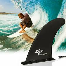 Goplus <b>Surf</b> & <b>SUP Single</b> Fin Detachable Center Fin for <b>Longboard</b> ...