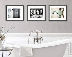 dog faces ceramic bathroom accessories shabby chic: bathroom decor set of  photographs or canvas wraps bathroom art set rustic bathroom decor vintage shabby chic bathroom art bath decor