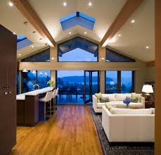 lighting ideas for sloped ceilings astounding vaulted ceiling ideas with ceiling lighting options
