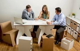 cardboard furniture for the dorm room and beyond cardboard office furniture