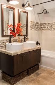 mauve ceramic tile bathroom wall textiles