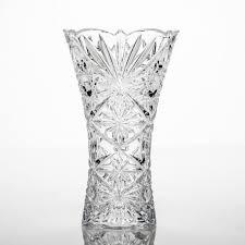 <b>Ваза</b> Нова <b>Тукана</b>-<b>Миранда</b> 25 см из хрусталя <b>Bohemia Crystalite</b>