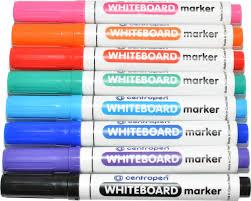Набор маркеров для белой доски Centropen 8 штук 8 цветов ...