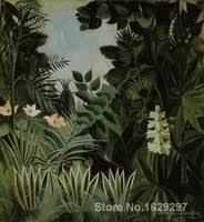 <b>Henri Rousseau</b> Paintings