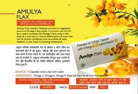 Flax Seed <b>Omega 3 6 9</b>- <b>30 Softgel</b> Cap, For Vitamin Deficiency, Rs ...
