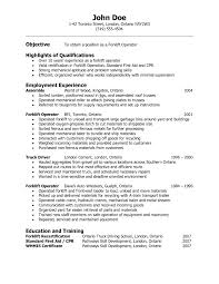 heavy equipment operator resume objective cipanewsletter example of resume for operators resume template example