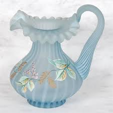 fenton satin handpainted pitcher signed by dan fenton fenton find best value and selection for your fenton satin handpainted pitcher signed by dan fenton search on world s leading marketplace