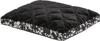 Лежак для животных <b>MidWest Sofia</b>, цвет: черный, белый, 61 х 46 ...