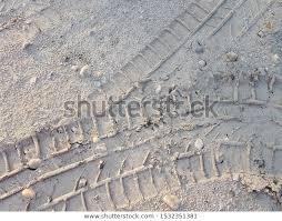 Tyre <b>Wheel Imprint Dirty</b> Road Surface Stock Photo (Edit Now ...